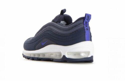Nike Air Max 97 9GS) juventud tamaño 4.5 EUR 37.5 (921523 400) Thunder Azul/Violeta