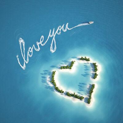 Birthday Card - Love Island Ideal for Husband Wife Partner Boyfriend Girlfriend