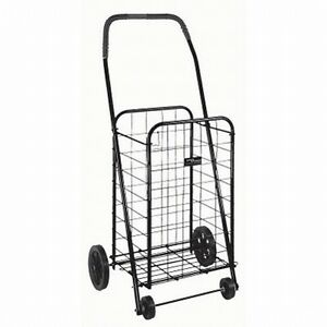 Rolling Folding Laundry Hamper Mat Grocery Cart Basket Ebay