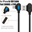 miniature 3 - 3Pack 90 Degree 6Ft USB Fast Charging Cable For iPhone 12 11 X 8 7 Charger Cord