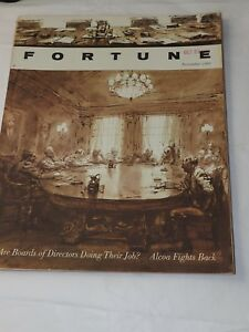 FORTUNE Magazine Great Advertisements Articles NOVEMBER 1962