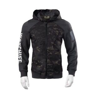 Mens Military camo Coat Outdoor Camping Fashion Sweater Windproof Hoodie Jacket