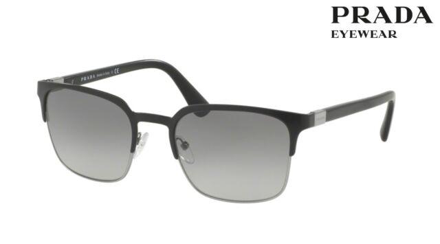 e24268c5a7fa0 ... amazon prada sunglasses spr 61s 1bo 3m1 matte black gunmetal 55mm 69cad  3bc71