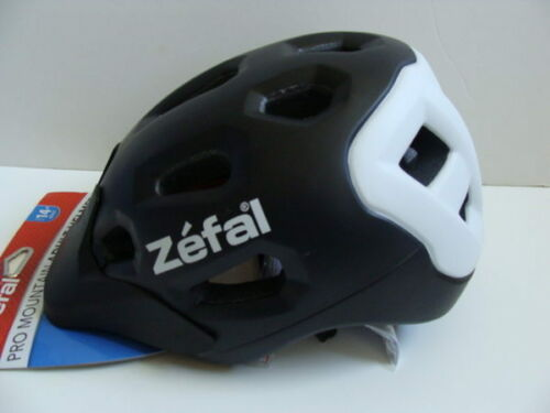 Yrs Bicycle Adjustable Fit Black NWT Zefal Pro Mountain Adult Bike Helmet 14