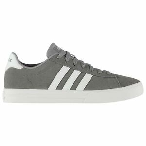 Mens Tonal imbottito Up Tongue caviglia Collare Adidas Lace Trainers Daily Suede dCzWXvqfw