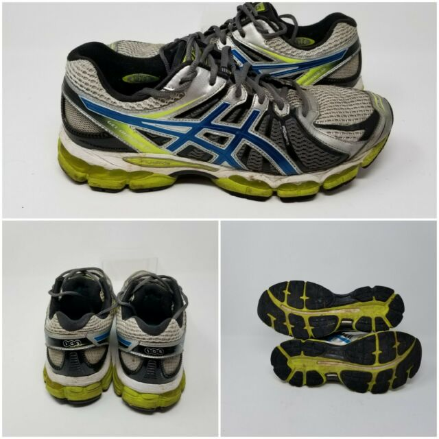 Asics Gel Nimbus 15 Fluid Green Athletic Running Sneakers Shoes Mens Size 10.5