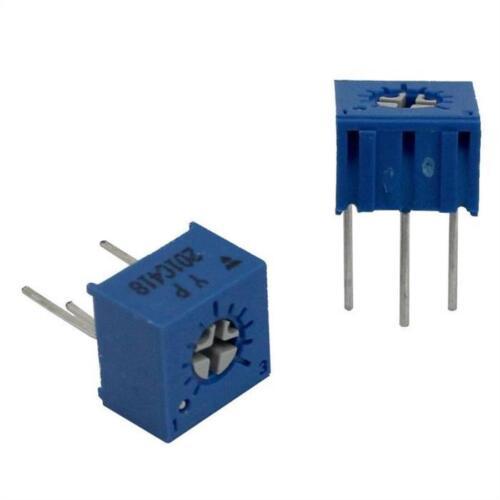 10x Trimmer 200r 10/% 0,5w 240 ° Vishay t73yp201kt20; 200ohm