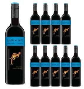 Yellow-Tail-Cabernet-Merlot-Red-Wine-Case-12-bottles-Fast-amp-Free-Shipping