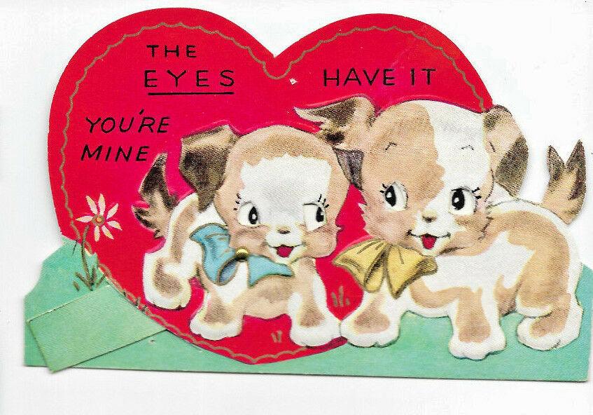 Vintage valentine card.