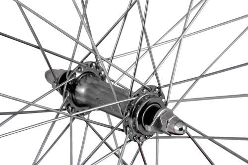 700c wheelsON Front Wheel Single Wall 36 H Silver 622-21