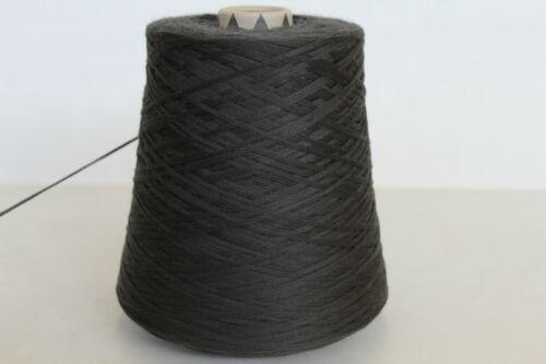 3,6 MERINO 49,98€//kg 500g CASHMERE // KASCHMIR // WOLLE NACHTGRAU B18