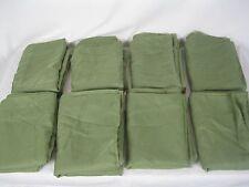 "Lot of 8  Green Home Decor Sheer Window Drape Curtain Panel  60""W x 82""L"