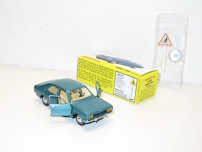 Simca 1800 Blau Grün Metallisierte Dinky Toys Atlas Dinky Ref 1409