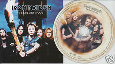 IRON MAIDEN The Wicker Man (CD SINGLE 2000) 3 Songs + Video Track w/Poster