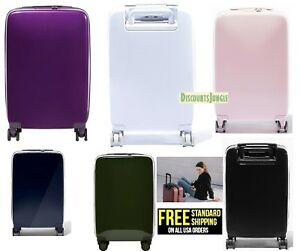 0b8d0e0a1 RADEN A22 USB SMART LUGGAGE HARDSIDE CARRY ON Spinner 22'' INCH ...
