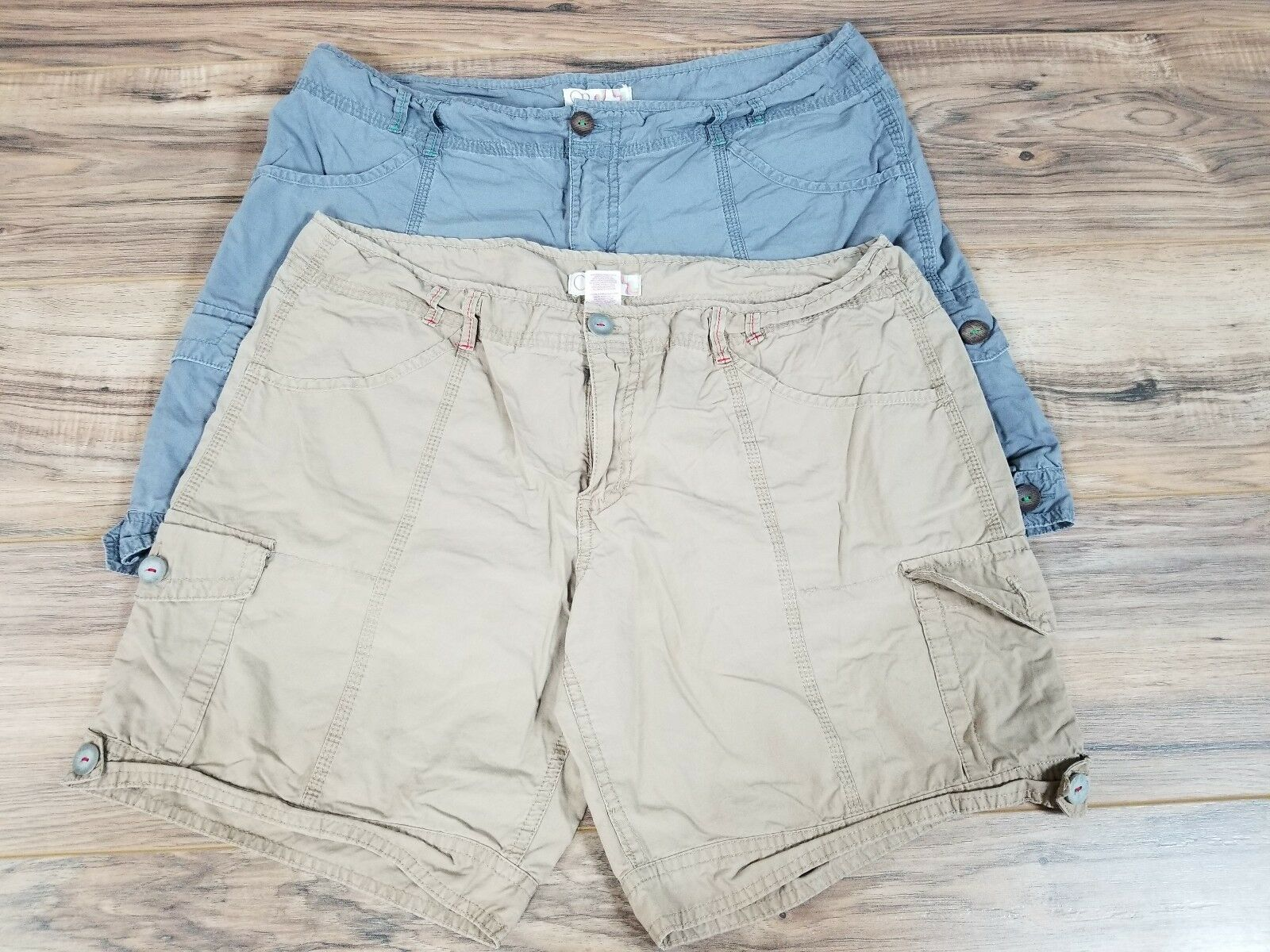 OP Ocean Pacific lot of 2 shorts Pants Size  13.