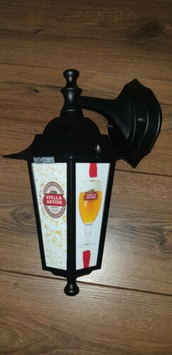 Stella Artois display lantern Stella replica Wall pub lantern bar beer