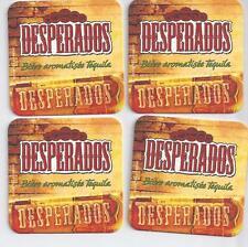 ## 4x sous Bock ※ DESPERADOS ※ Beer Coaster  Bier Deckel ## 2012