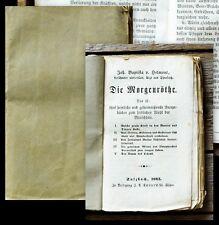 c1860 Alchemie occulta Paracelsus Helmont Johan Baptista van Die Morgenröthe