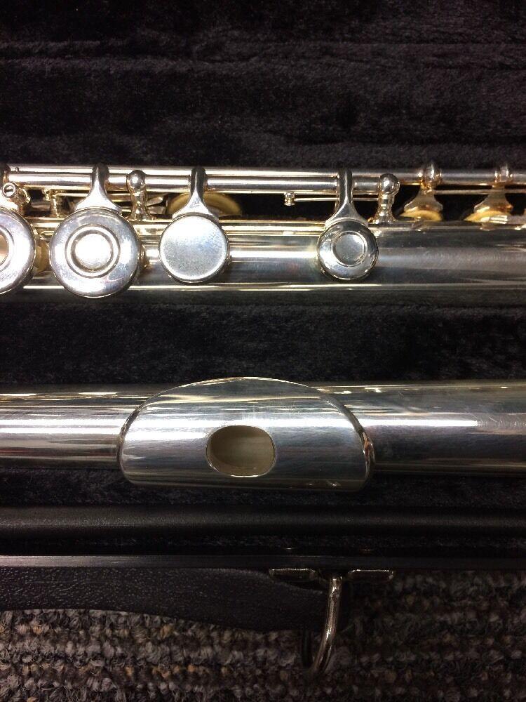 Flauta Flauta Flauta Gemeinhardt abrir agujero plateado plata ac6ff3