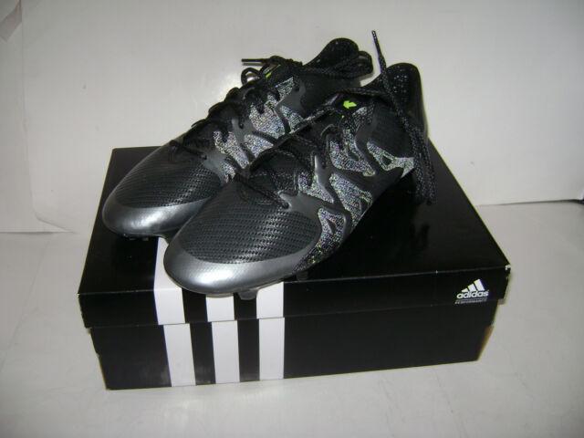 on sale dc30c 47720 adidas 6472 Mens Ace 15.3 Fg/ag Black Lightweight Soccer Cleats Athletic 10  BHFO