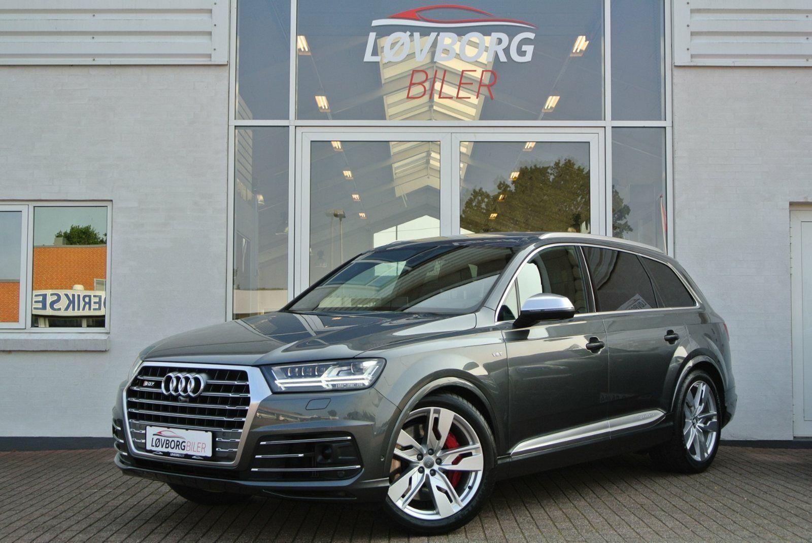 Audi SQ7 4,0 TDi quattro Tiptr. 7prs 5d - 8.492 kr.