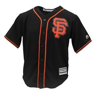 f220d7044 San Francisco Giants Genuine MLB Majestic Cool Base Youth Kids Size ...