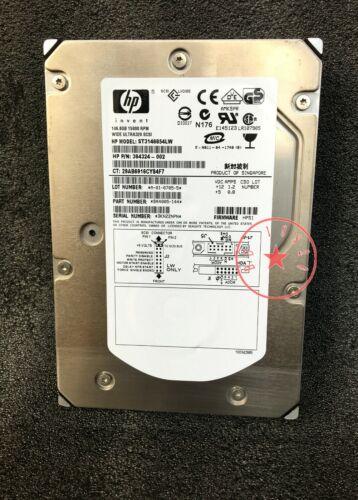 HP 146.8G ST3146854LW 15K 68-pin SCSI hard drive 364324-002 365563-001