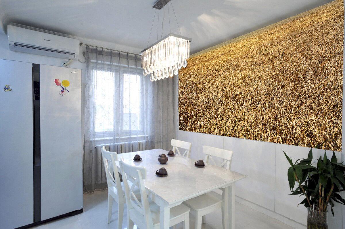 3D Weizenfeld 77 Tapete Wandgemälde Tapete Tapeten Bild Familie DE Summer