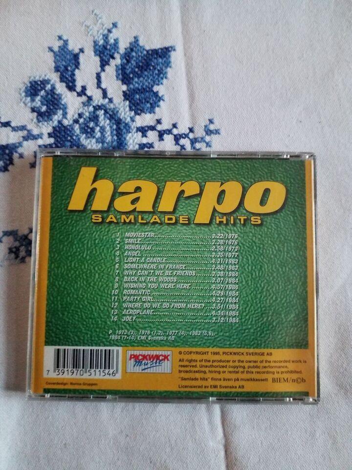 HARPO: SAMLADE HITS, pop