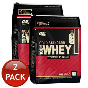 2 X Optimum Nutrition Gold Standard 100 Whey Protein Powder