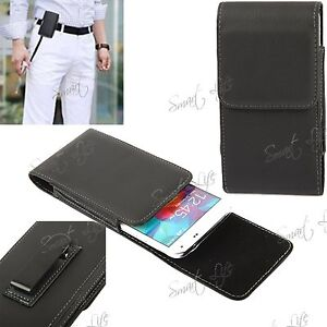 PU-Leather-Magnetic-Flip-Belt-Clip-Hip-Pouch-Case-Holster-For-Mobile-Cell-Phone