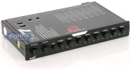 MASSIVE AUDIO 7-Band In-Dash Equalizer w// 8V Line Driver /& Aux InputEQ7