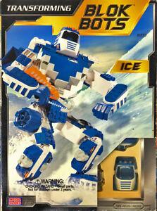 mega bloks transforming blok bot ice robot to vehicule mode 185