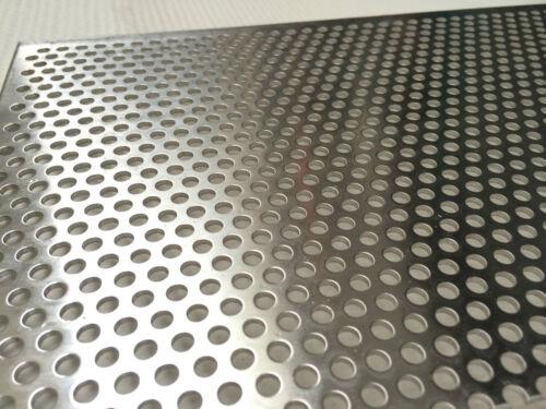 Edelstahl 1,5mm 2,0mm  Wunschmaße TOP Ware Lochbleche Aluminium,Stahl Verzinkt