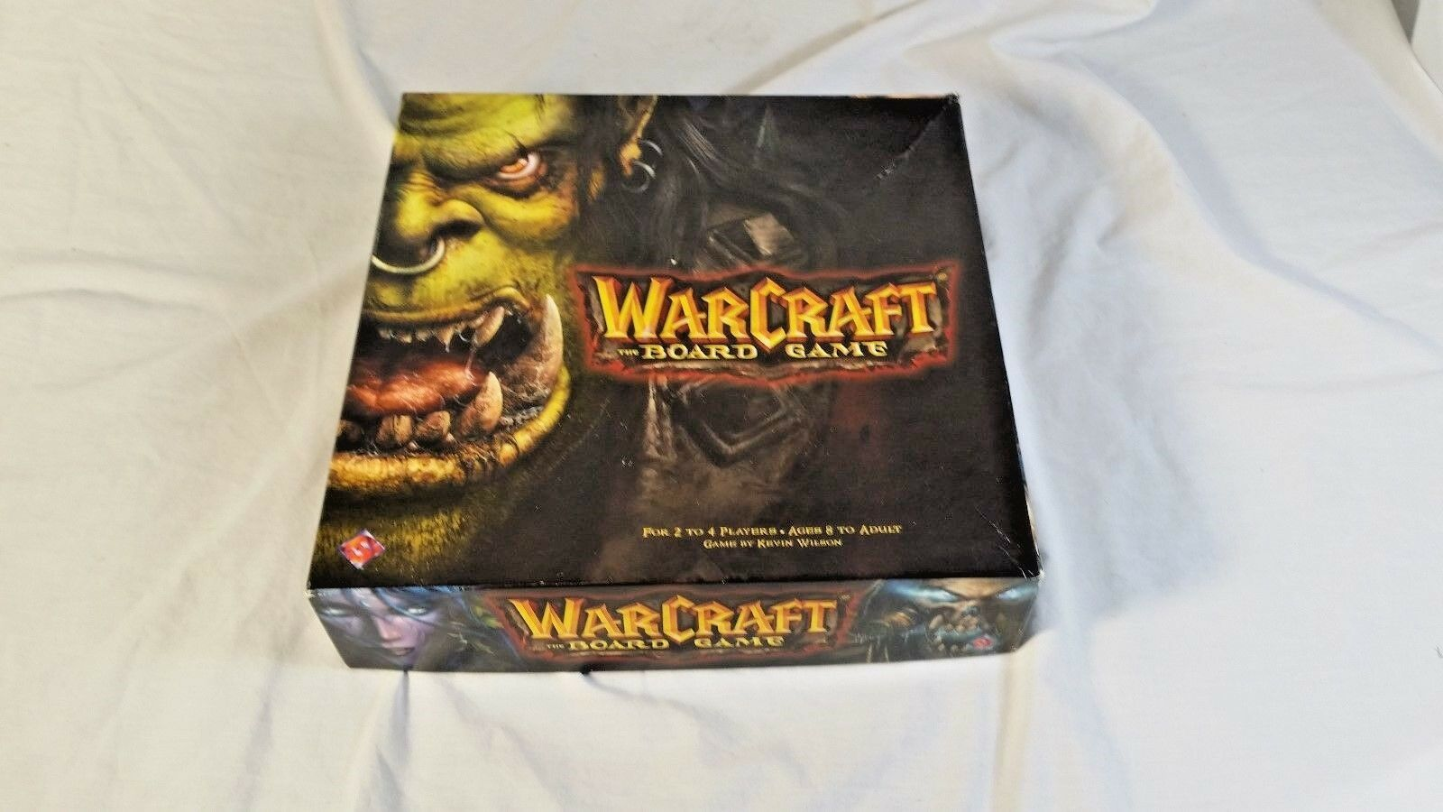 Fantasy flight brettspiel warcraft - brettspiel kasten fair - kevin wilson - wow