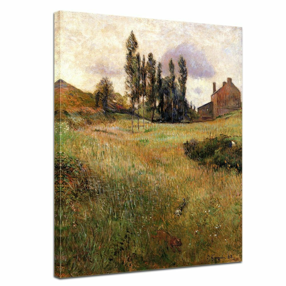 Kunstdruck - Alte Meister - Paul Gauguin - Hunde auf einer Wiese
