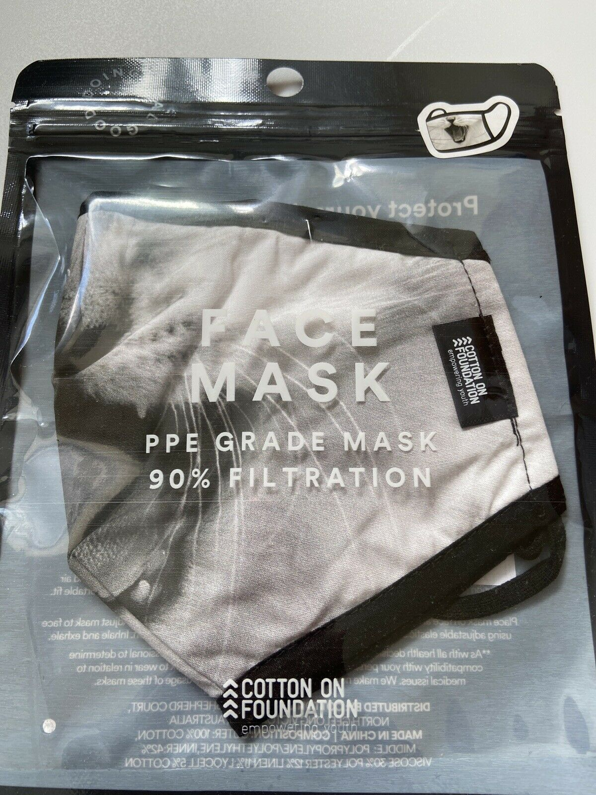 face mask washable and reusable