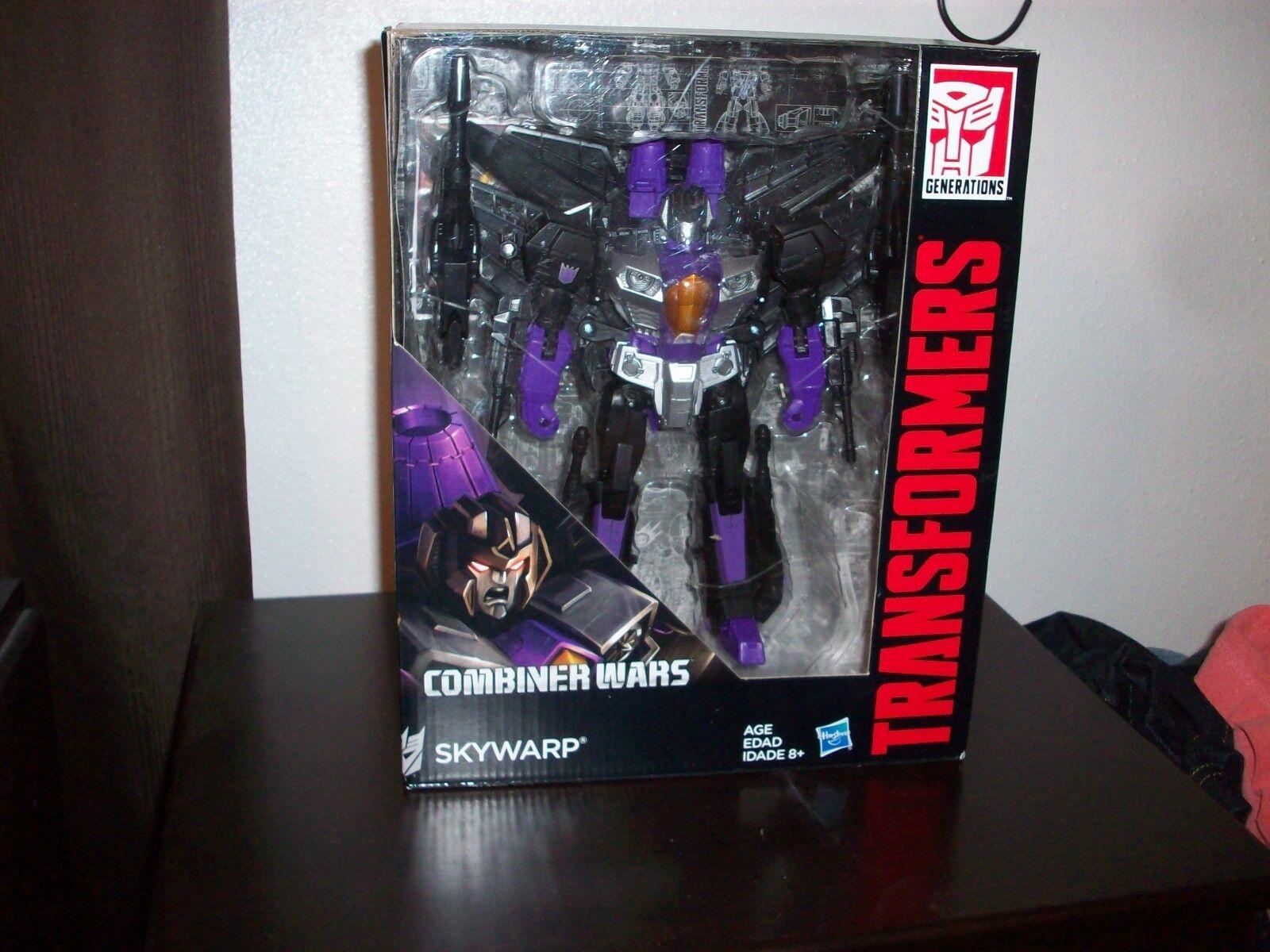 Transformers Combiner Wars Skywarp Figure NIB