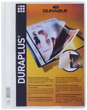5x DURABLE 2579-10 DURAPLUS grau Sichthefter Angebotsmappe Hefter überbreit NEU