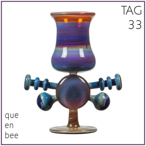 "AK33° TRAUTMAN ART GLASS /""Queen Bee/"" BORO 19,80€//m"