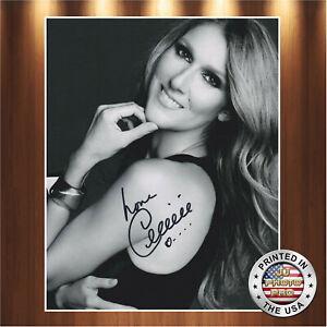 Celine-Dion-Autographed-Signed-8x10-Photo-REPRINT