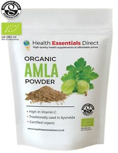 Organic-Amla-Powder-Indian-Gooseberry-Natural-Vitamin-C-Hair-Choose-Size