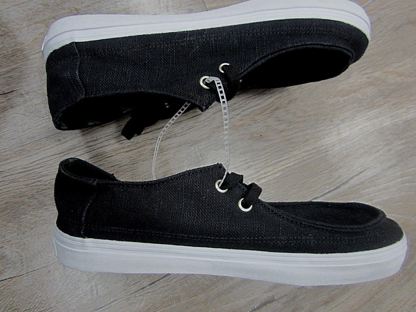 NEW Vans  Ultra Low Totem Black with Ultra  Cush Men's Size 6.5 1554c1