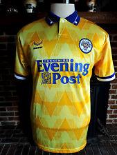 VTG. LEEDS UNITED AFC Football/Futbol/Soccer Jersey 1992 Away Men's Size XL