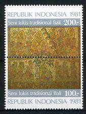 INDONESIE: ZB 1044/1045 MNH** 1981 Schilderkunst uit Bali