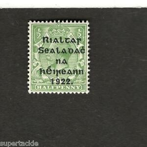 Great-Britain-SC-39-KING-GEORGE-V-Half-Penny-MNH-stamp-Overprint