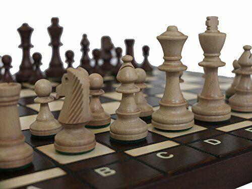 Chessebook Jeu d/'échecs en Bois avec Mallette Bug 41 cm