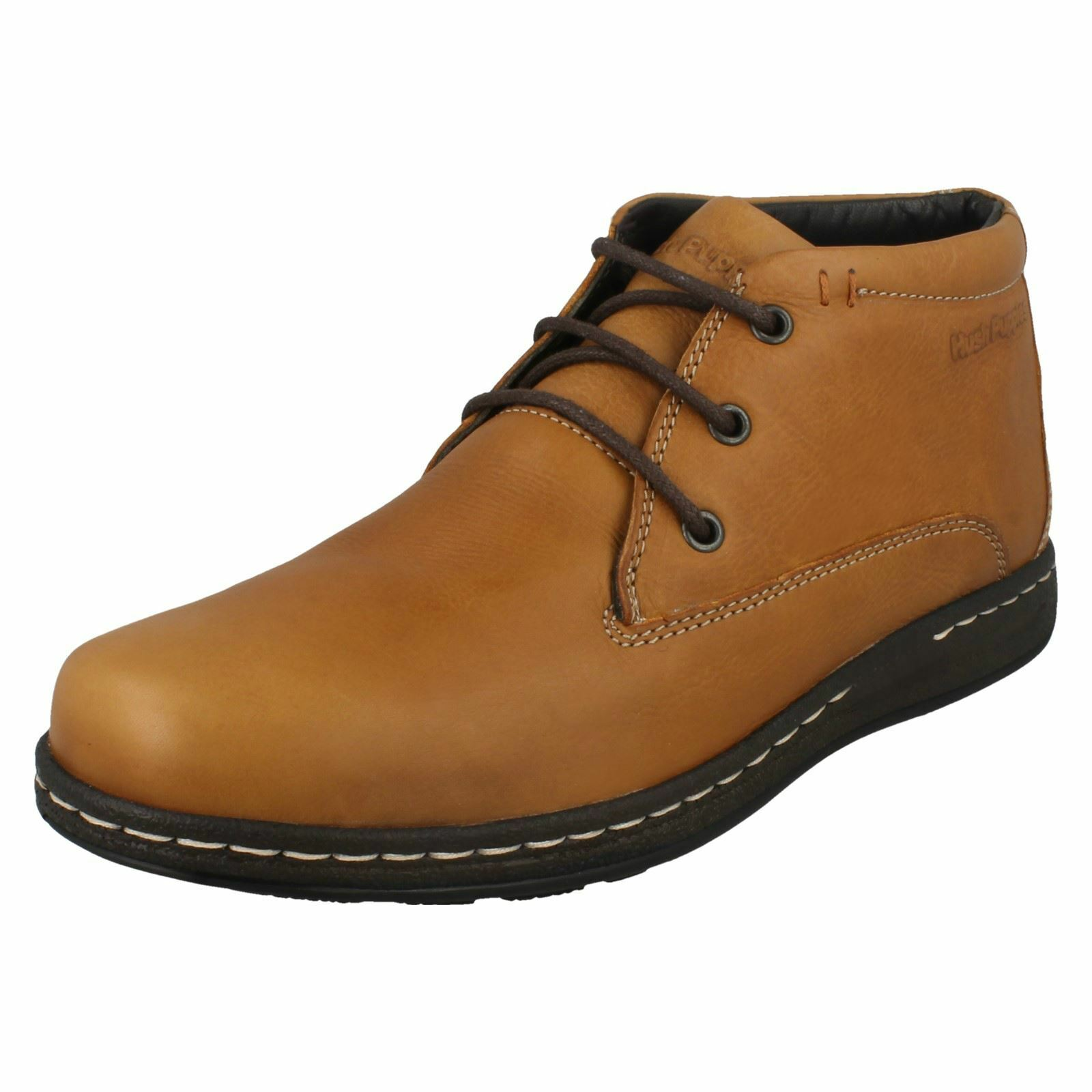 Hombre Up Hush Puppies Lace Up Hombre Ankle botas Vice Victory 142297