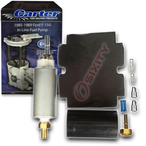 Carter In-Line Electric Fuel Pump for 1985-1989 Ford F-150 4.9L 5.0L 5.8L L6 sa